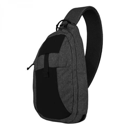 Helikon-Tex EDC Sling Backpack - Nylon Polyester Blend black-grey melange